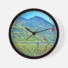 Loch Achtriochtan sq Wall Clock