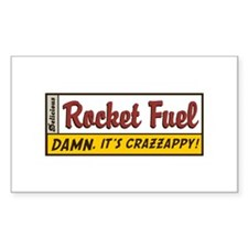 Rocket Fuel Rectangle Decal