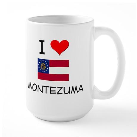 I Love MONTEZUMA Georgia Mugs