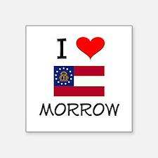 I Love MORROW Georgia Sticker