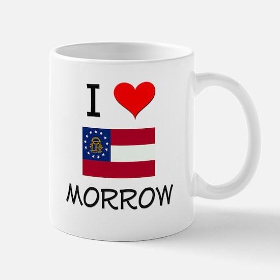 I Love MORROW Georgia Mugs