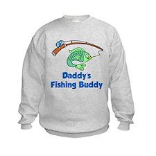 Daddys Fishing Buddy Sweatshirt