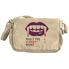 Vampire Mom Messenger Bag