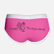 Happy Thanksgivukkah Women's Boy Brief