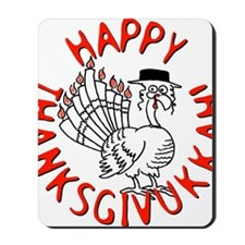 Happy Thanksgivukkah Mousepad