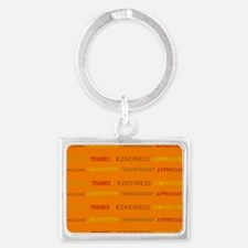Thanksgiving Thoughts Keychains