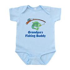 Grandpas Fishing Buddy Body Suit