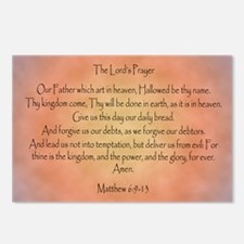 The Lord's Prayer Christi Postcards (Package of 8)