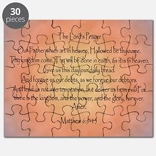 The Lord's Prayer Christian Puzzle