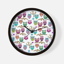 Cute Whimsical animals Wall Clock