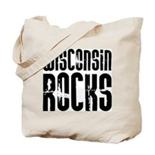 Wisconsin Rocks Tote Bag