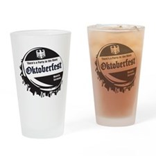 Oktoberfest-Bottle-Cap Drinking Glass