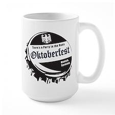 Oktoberfest-Bottle-Cap Mugs