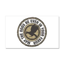 Catching Fire Odds in Your Favor Car Magnet 20 x 1