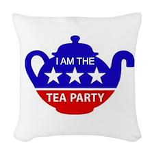 PATRIOT PARTY Woven Throw Pillow