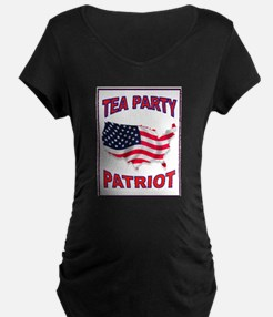 PATRIOT PARTY Maternity T-Shirt