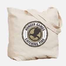 Hunger Games Catching Fire Tote Bag