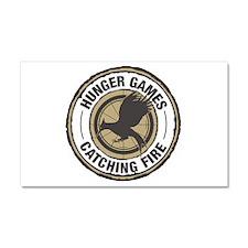 Hunger Games Catching Fire Car Magnet 20 x 12