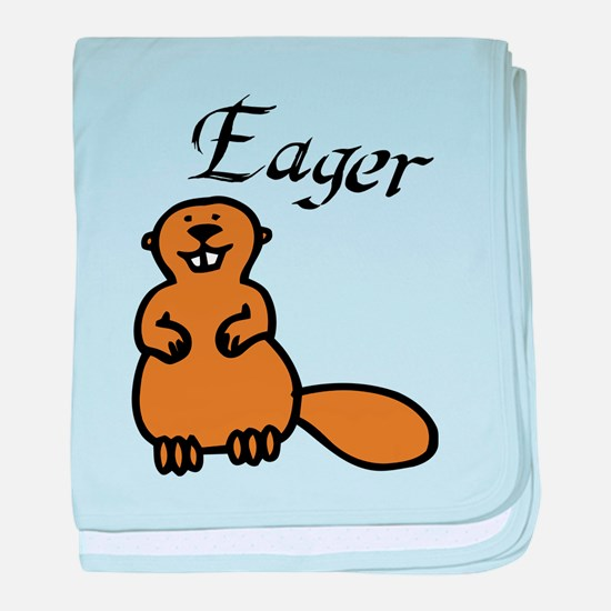 Eager baby blanket