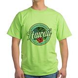 Hawaii Green T-Shirt