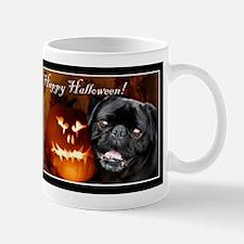 Happy Halloween pug dog Mugs