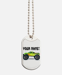 Personalized Monster Truck Dog Tags