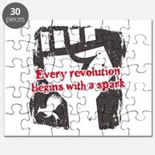 Every Revolution Begins With a Spark Puzzle