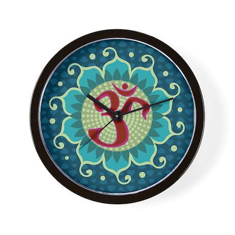 Lotus Aum - Wall Clock