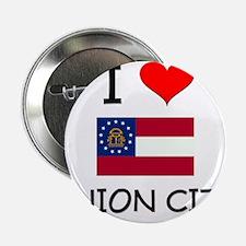 "I Love UNION CITY Georgia 2.25"" Button"