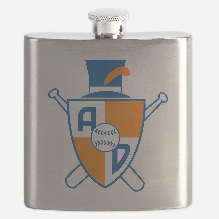 Alexandria Dukes Baseball Flask