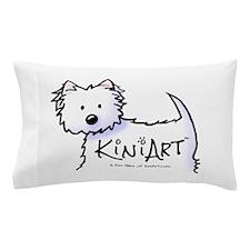 KiniArt Promo Westie Pillow Case