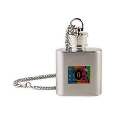 respiratory 9 Flask Necklace