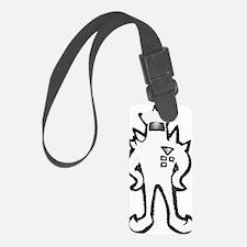Metalicized Starmen Luggage Tag