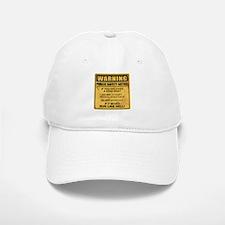 Warning Baseball Baseball Baseball Cap