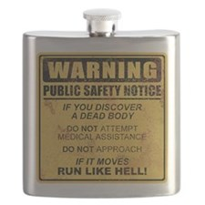 Warning Flask