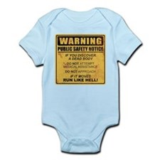 Warning Body Suit