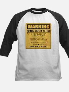 Warning Baseball Jersey