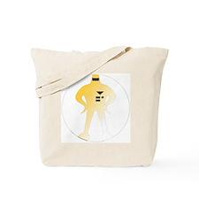 Glow Starman Tote Bag