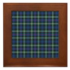 Tartan - MacKenzie dress Framed Tile