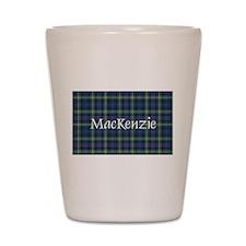 Tartan - MacKenzie dress Shot Glass