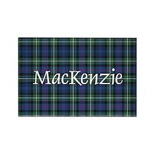 Tartan - MacKenzie dress Rectangle Magnet