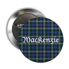 """Tartan - MacKenzie dress 2.25"""" Button (10 pack)"""