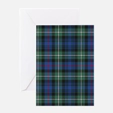 Tartan - MacKenzie dress Greeting Card