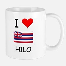 I Love HILO Hawaii Mugs