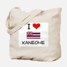 I Love KANEOHE Hawaii Tote Bag
