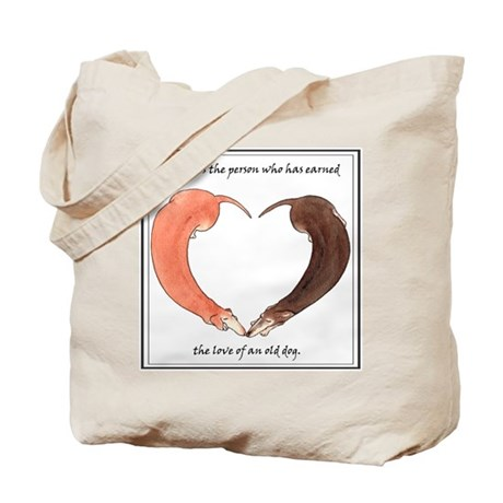 Older Dachshunds Tote Bag