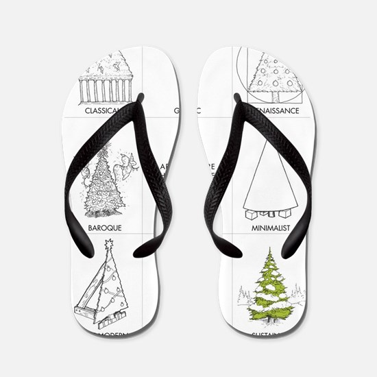 Architecture History of Christmas Tree Flip Flops
