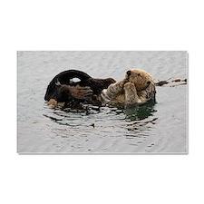California Sea Otter Car Magnet 20 x 12