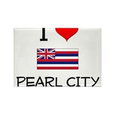 I Love PEARL CITY Hawaii Magnets