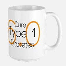 Cure Type 1 Diabetes 6.0 Mugs